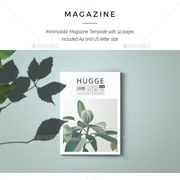 Hugge Minimal Magazine