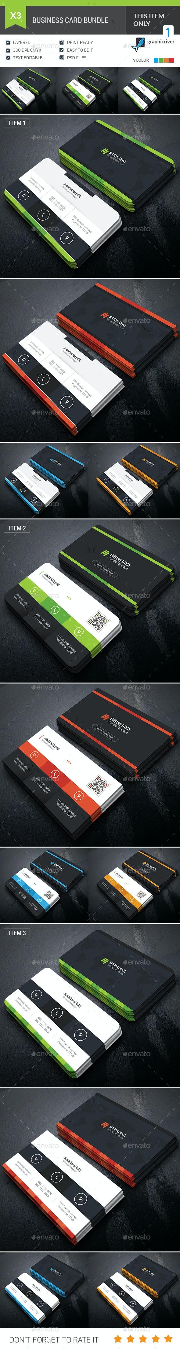 Professional Business Card Bundle - Corporate Business Cards