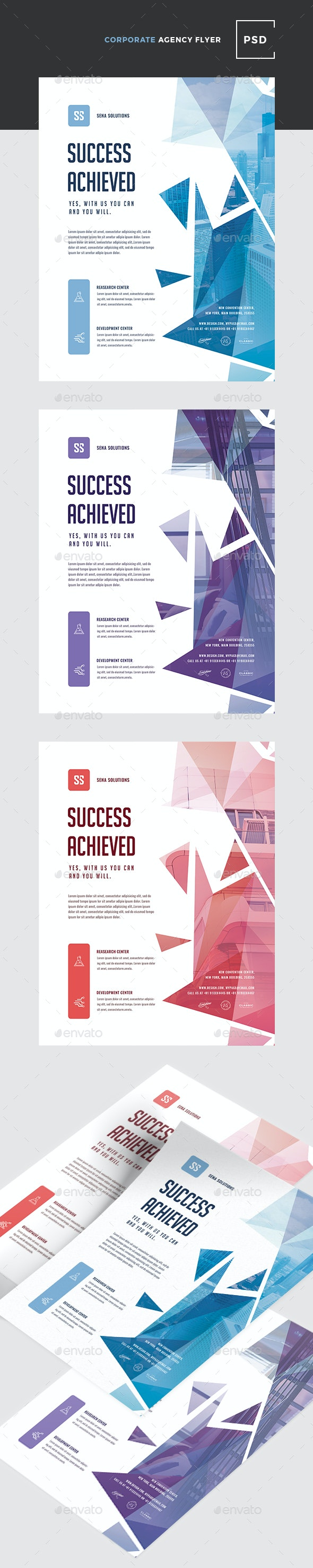 Creative Colorful Corporate Flyer - Corporate Flyers