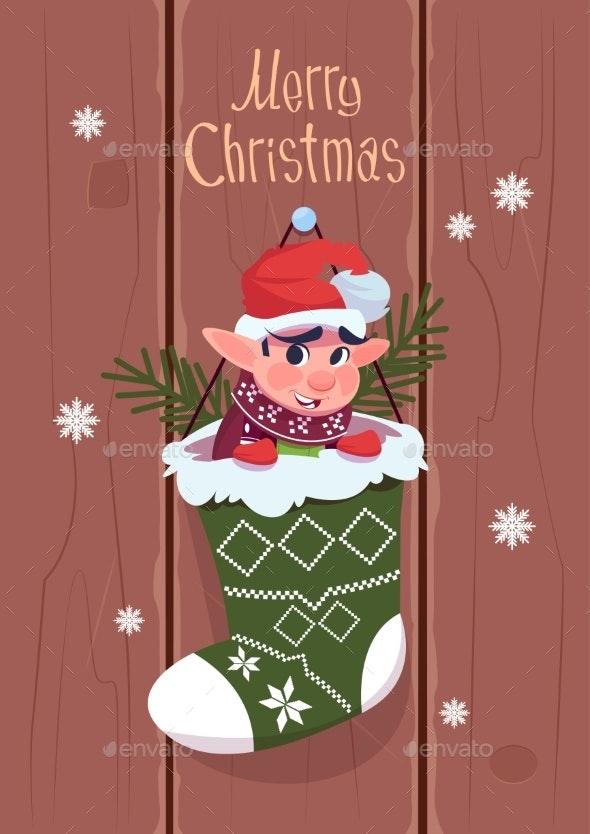 Merry Christmas and Happy New Year Greeting Card - Christmas Seasons/Holidays