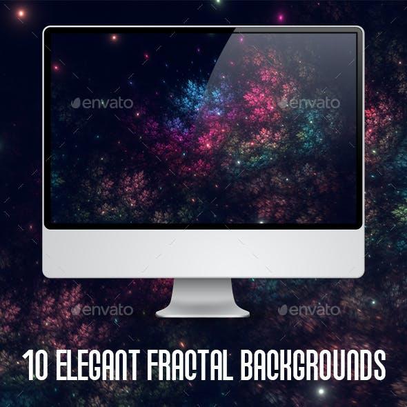 10 Elegant Fractal Backgrounds