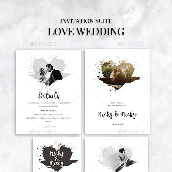 Love Brush Wedding
