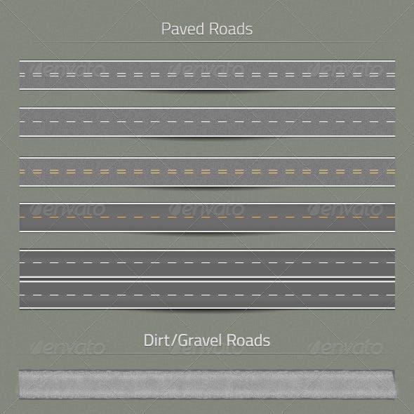 11 Road Stroke Styles