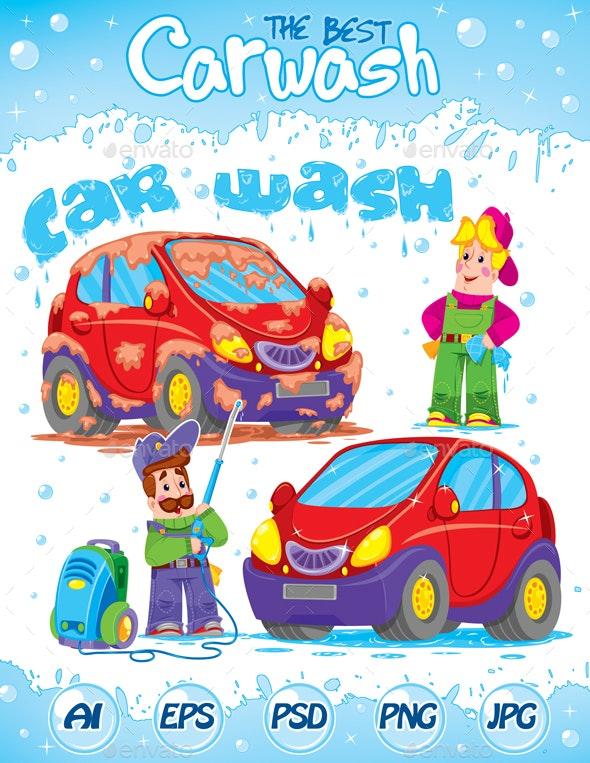 Qualitative and Joyful Car Wash - Concepts Business