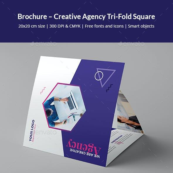 Brochure – Creative Agency Tri-Fold Square