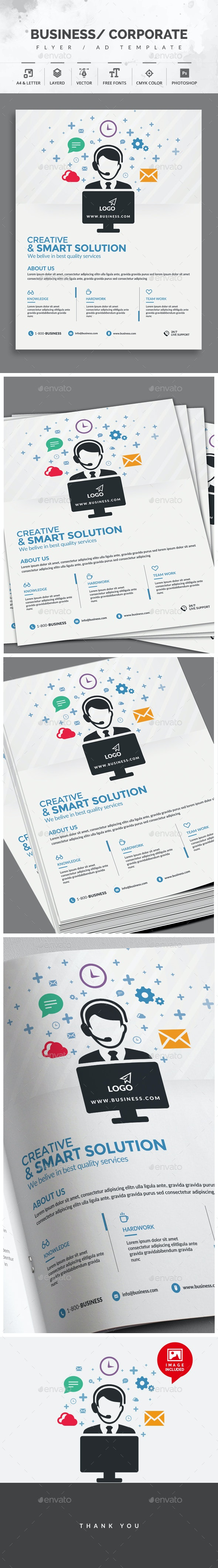 Customer Services Flyer - Corporate Flyers