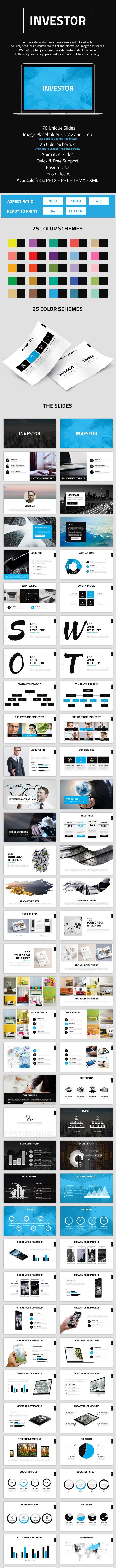 Investor - Business PowerPoint Presentation Template - Business PowerPoint Templates