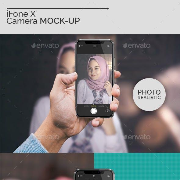 iFone X Camera Mock-Ups