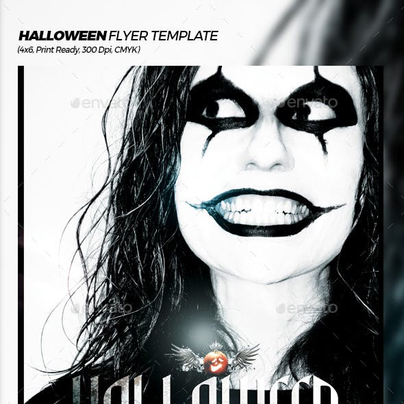 Halloween Extravaganza Flyer Template