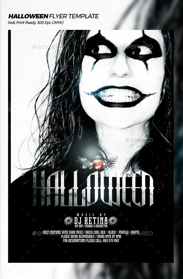 Halloween Extravaganza Flyer Template - Events Flyers