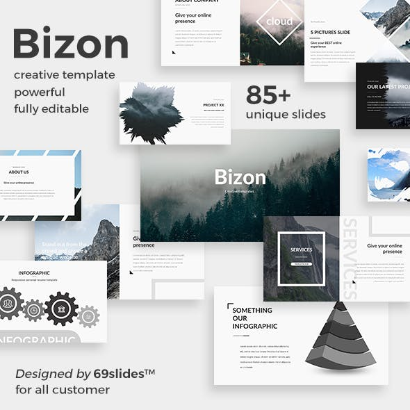 Bizon Creative Powerpoint Template
