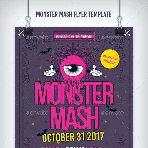 Monster Mash Party Template