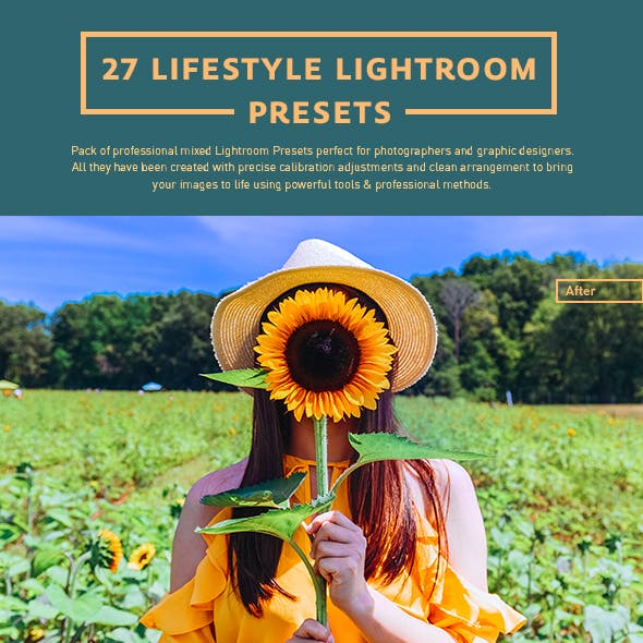 27 Lifestyle Lightroom Presets