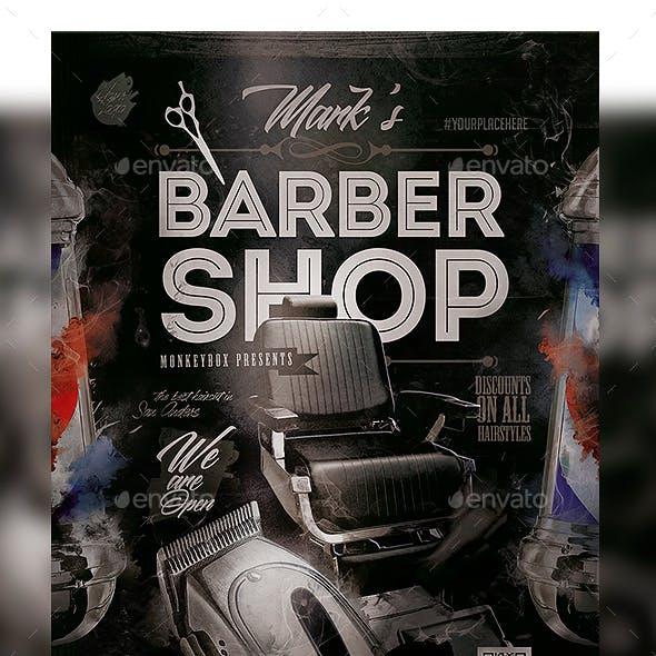Flyer Barbershop