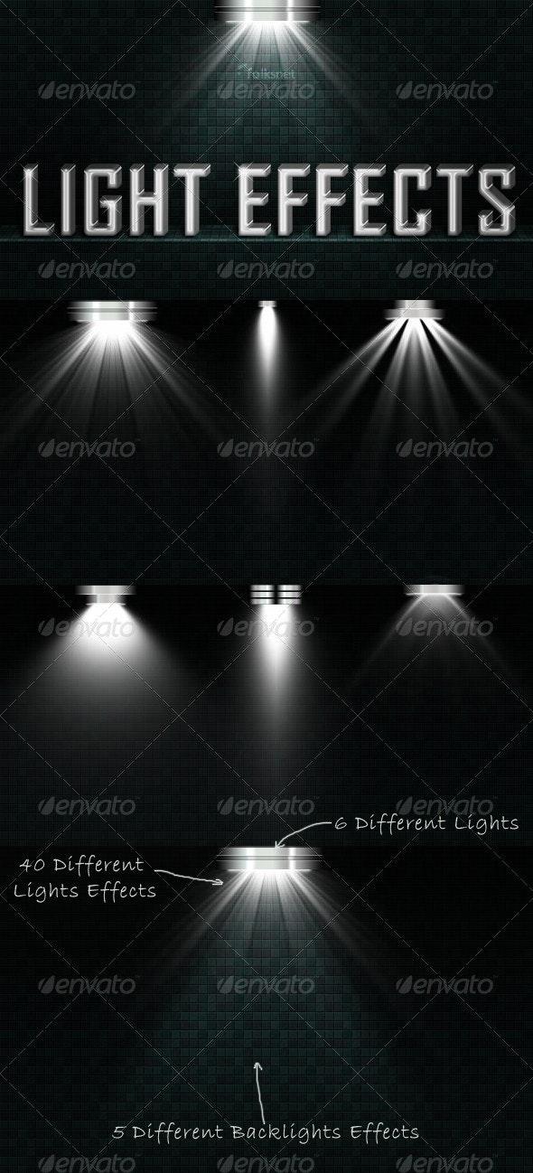 Light Effects Set 2 - Decorative Graphics