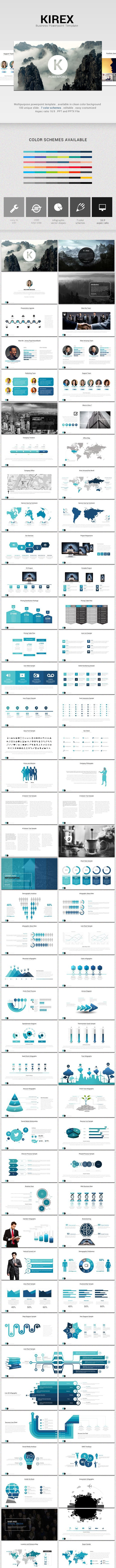 Kirex Business Powerpoint - Business PowerPoint Templates