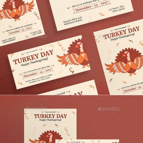 Turkey Day Flyers