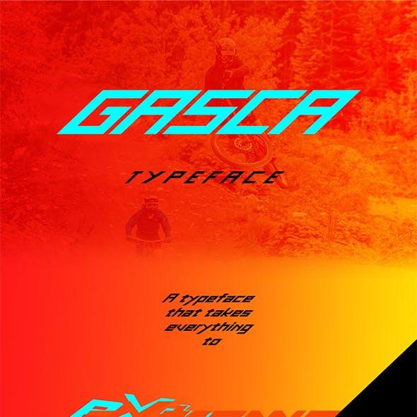 Gasca Typeface