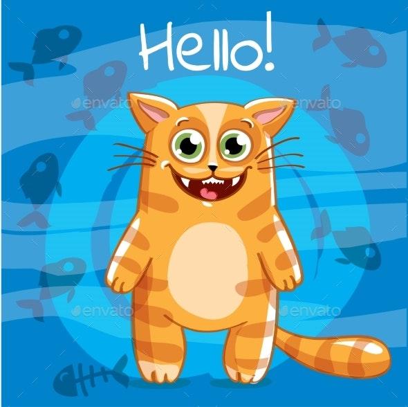 Cartoon Cat - Animals Characters