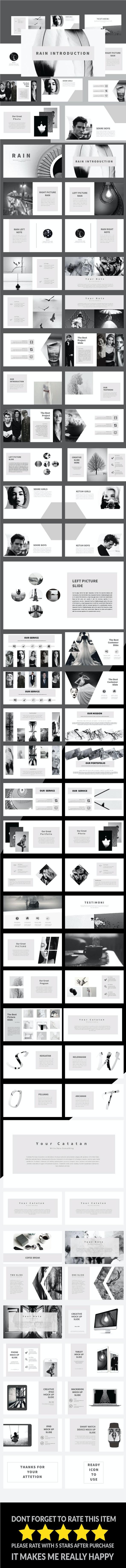 Rain - Keynote Templates - Business PowerPoint Templates