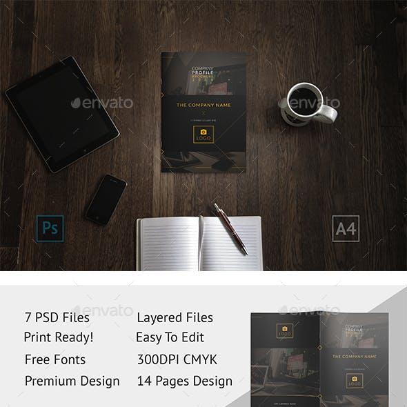Brochure - GoDesign Bi-Fold Template