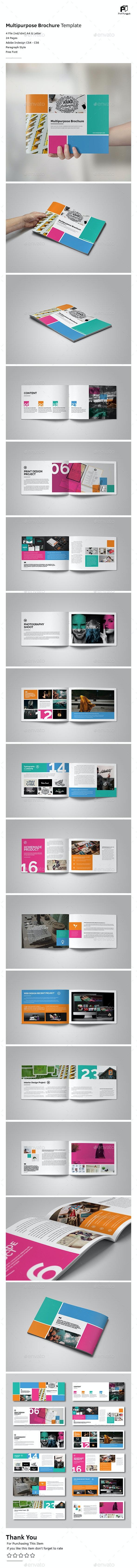 Colorful Brochure Vol.2 - Portfolio Brochures