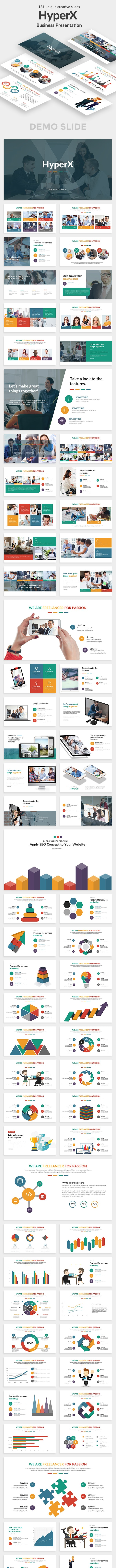 HyperX Business Google Slide Template - Google Slides Presentation Templates