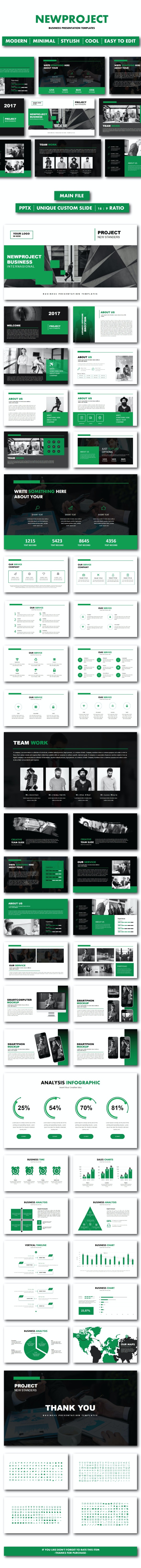 Newproject Business Templates - PowerPoint Templates Presentation Templates