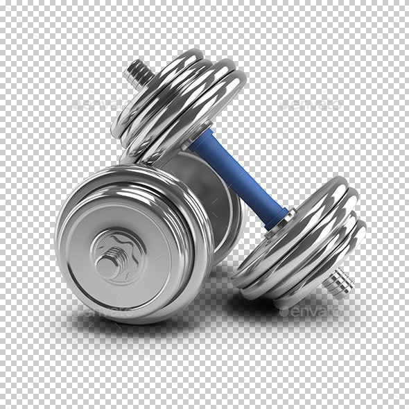 Dumbbells - Objects 3D Renders