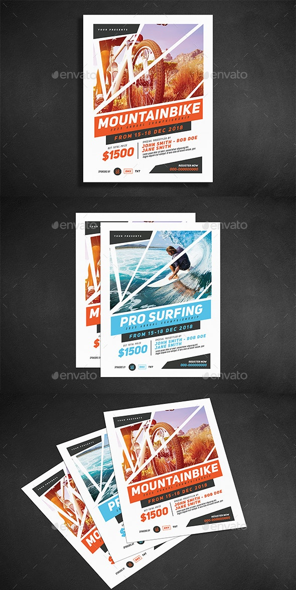 Extreme Sport Flyer - Sports Events