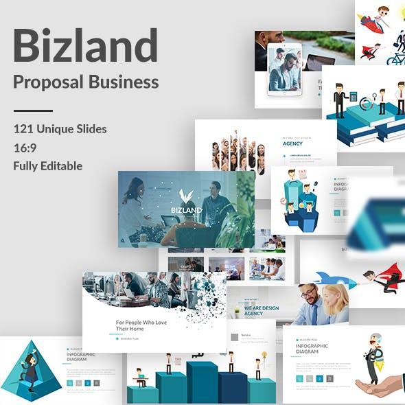 Bizland Business Powerpoint Template