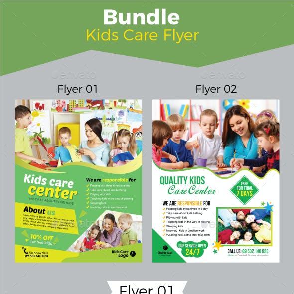 Kids Care Flyer Bundle