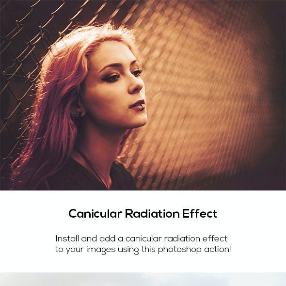 Canicular Radiation Effect