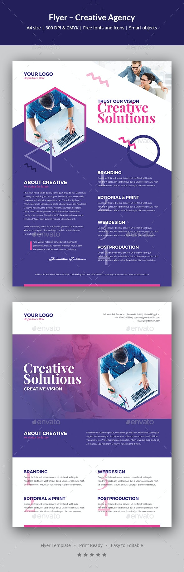 Flyer – Creative Agency - Corporate Flyers