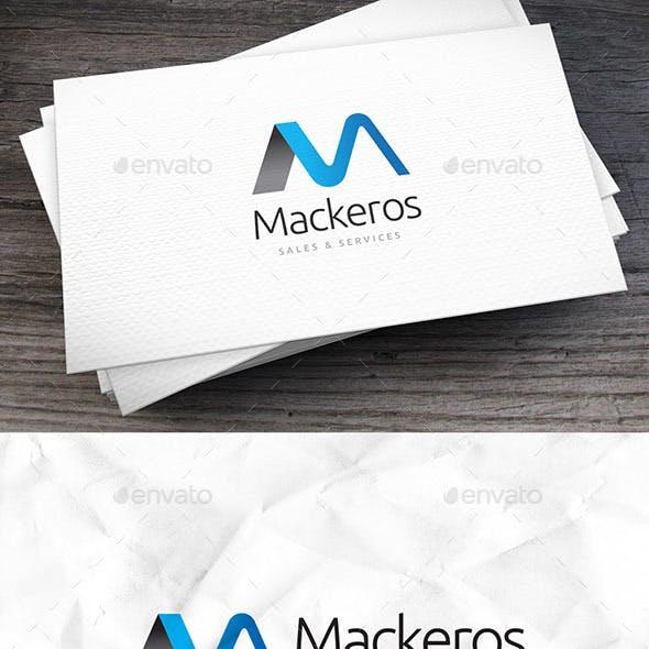 Mackeros Letter M Logo Template