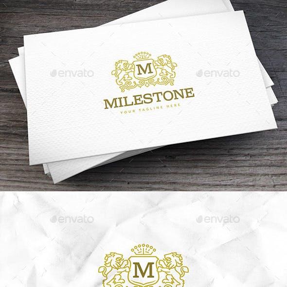 Milestone Logo Template