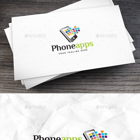 Phoneapps Logo Template