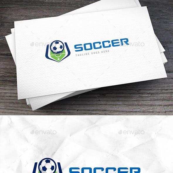 Soccer Court Logo Template