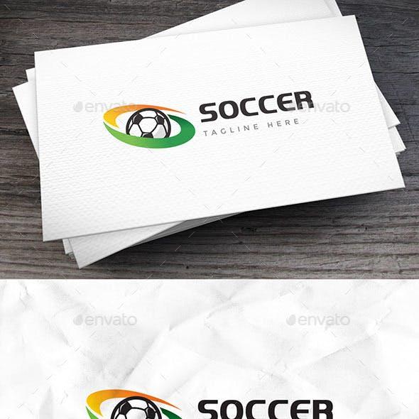 Soccer Fans Logo Template