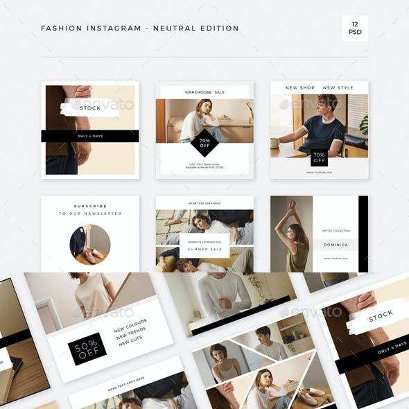 Fashion Instagram - Neutral Edition