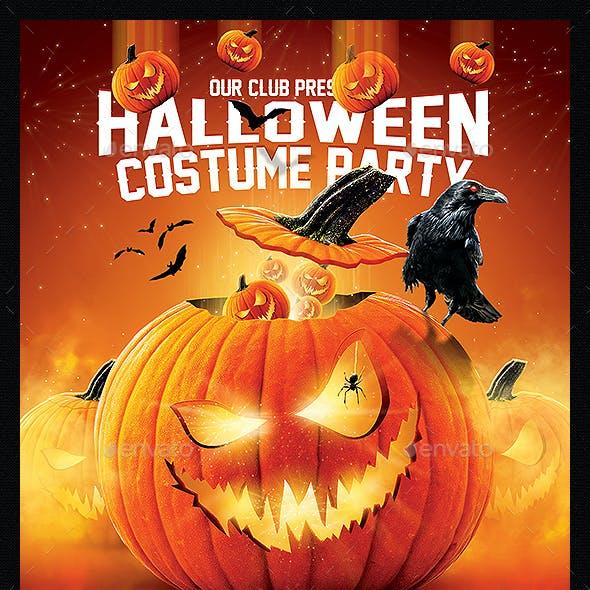 3in1 Halloween Flyer