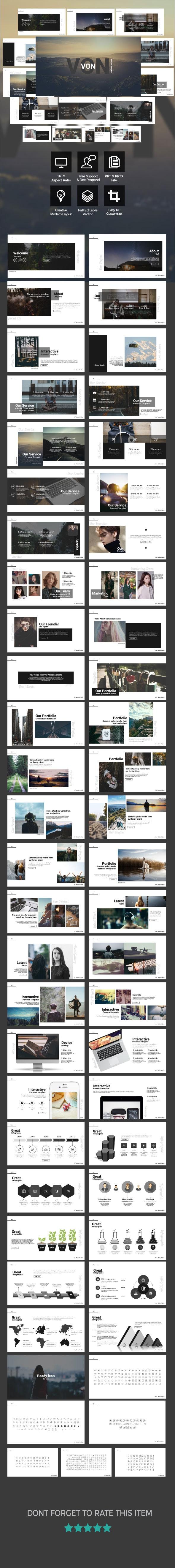 VON - Presentation Template - Business PowerPoint Templates