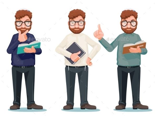 Professor Intellectual Rationalist Education Smart - Miscellaneous Vectors