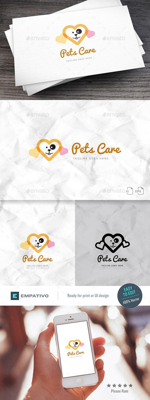 Pets Care Logo Template - Animals Logo Templates