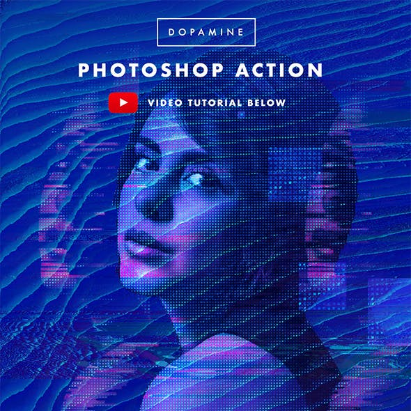Dopamine Photoshop Action
