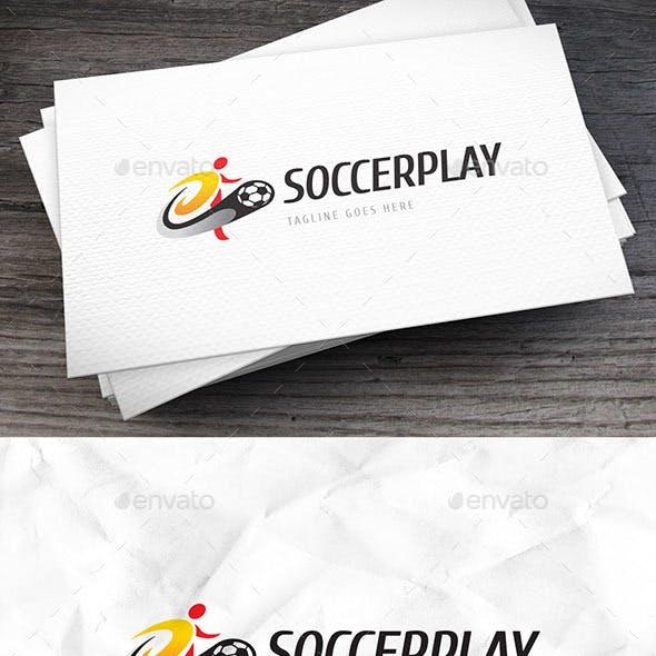 Soccerplay Logo Template