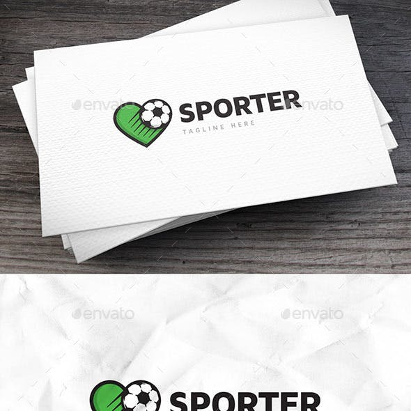 Sport Fan Logo Template