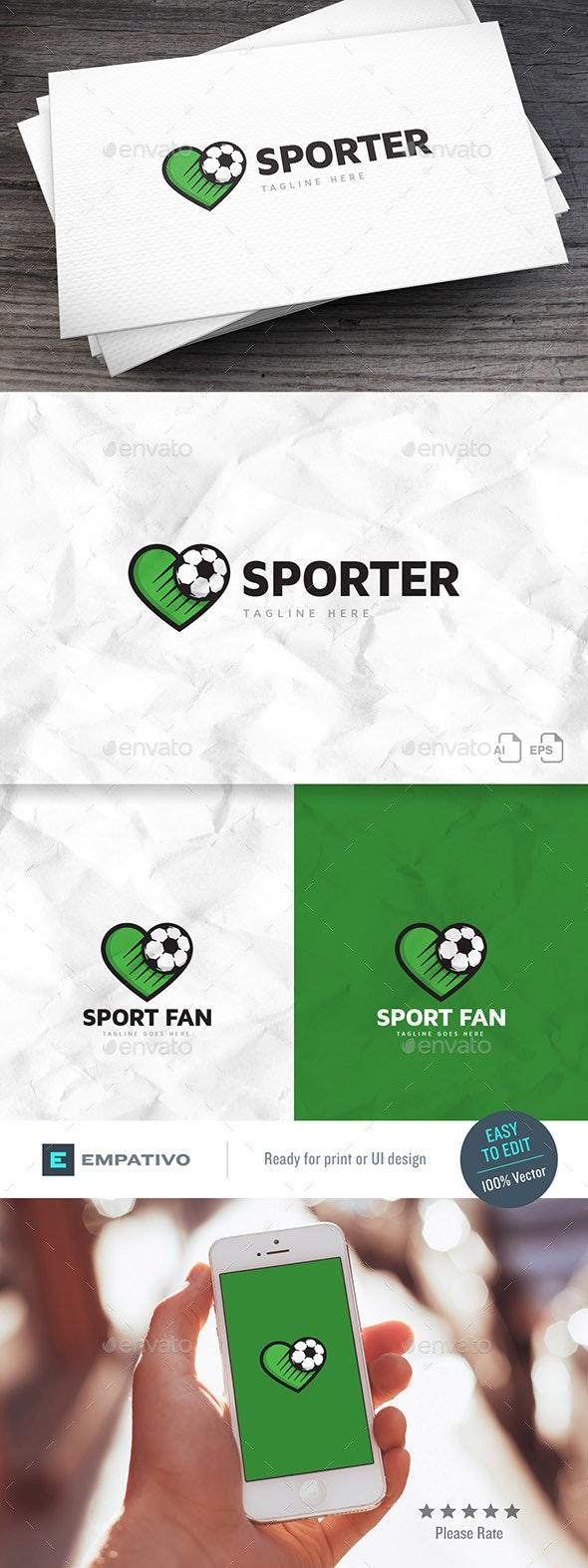 Sport Fan Logo Template - Football Sports