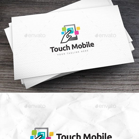 Touch Mobile Logo Template