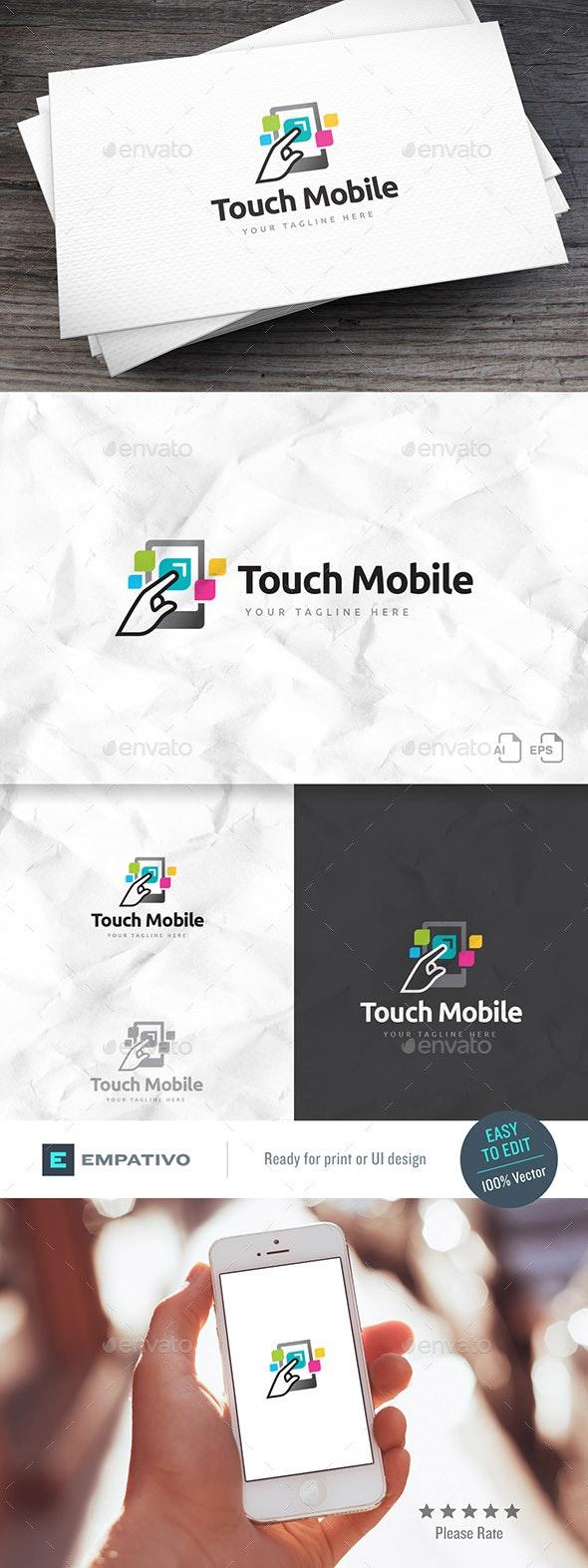 Touch Mobile Logo Template - Symbols Logo Templates